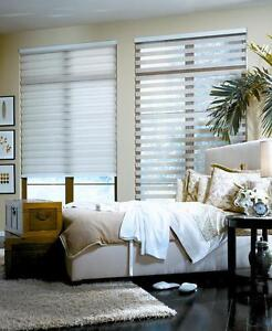CUSTOM SHUTTERS  ZEBRA BLINDS ROLLER SHADES UP TO 80% OFF!