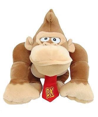 "NWT 7"" Nintendo Super Mario Bros DONKEY KONG Plush Toy Stuffed Licensed"