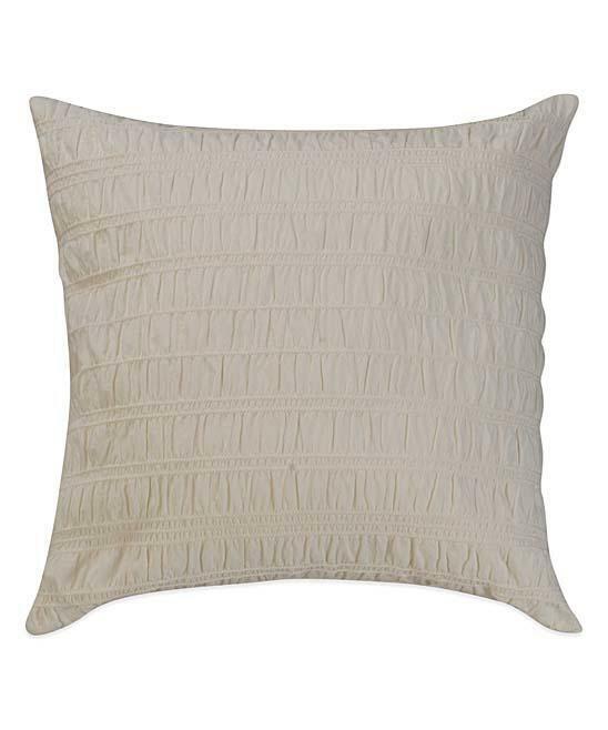 Home Bridge St. Lydia 100% Cotton Throw Pillow Home & Garden