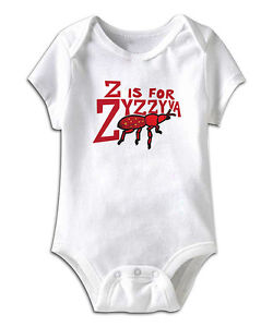 Infant Bodysuit - Z is for Zyzzyva NEW 6-12 and 12-18 mo