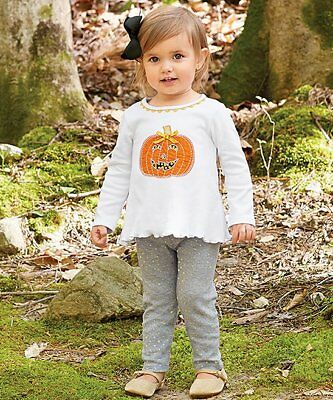 Mud Pie Halloween Pumpkin Tunic and Legging Set](Halloween Mud Pies)