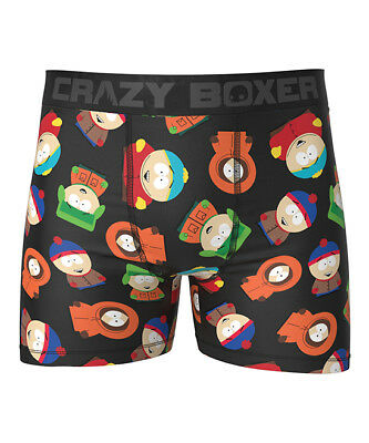 CRAZY BOXER MEN UNDERWEAR - BOXER BRIEF - SOUTH PARK (South Park Boxer Shorts)