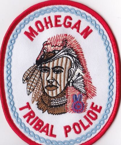Mohegan Tribal Police Patch Connecticut CT