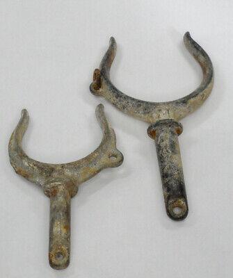 Lock and Socket Galvanized #2 Tapered Oar Lock Set Peerlesss #PER2 New