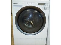 8kg Panasonic super silent washing machine, excellent condition, 3 months warranty