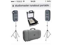 Studiomaster runabout pa