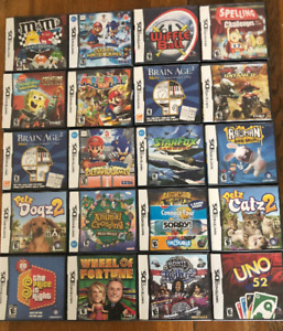 Collection of 20 DS Games - Sell as Complete Set or Individually
