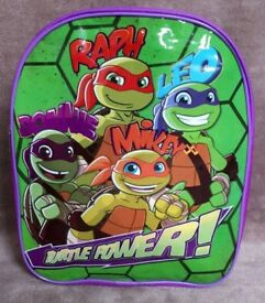 BRAND NEW NINJA TURTLES KIDS BAG BACKPACK