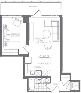 Beautiful 1 Bedroom Unit @ Limelight (360 Square One) Oct31/Nov1