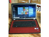 Hewlett Packard G6 Laptop and Bag