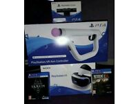PS VR,PLUS GAMES AND CAMERA BUNDLE