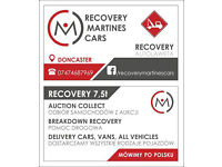 Recovery Truck 7.5 T Delivery Cars Vans All Vehicles