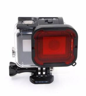 【NEW】red filter for Gopro 3 &4, Lens protection ring, Accessories