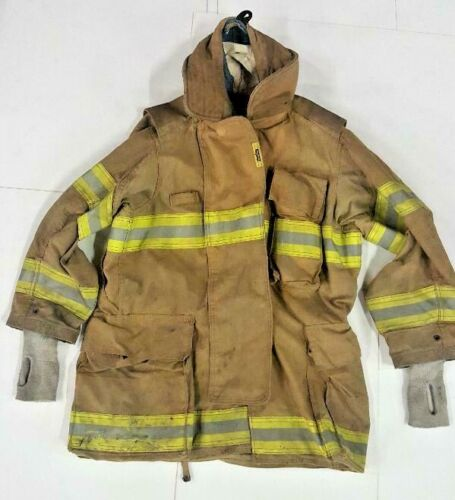 40x35 40T Securitex Brown Firefighter Jacket Turn Out Gear No Liner JNL-29