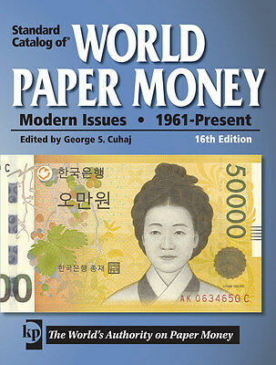 Catalog Of World Paper Money Modern Issues 1961-present & Free Shipping