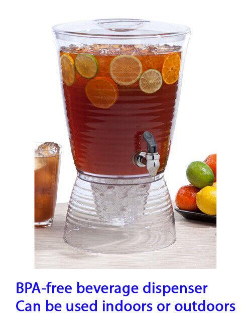 Creative Bath Bark 2.5-Gallon Beverage Dispenser