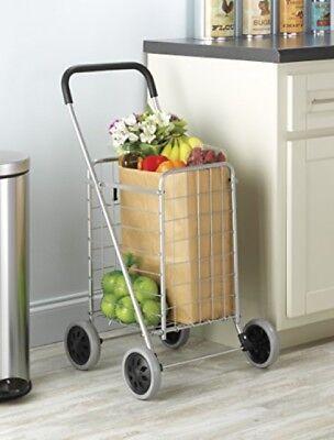 Seniors Cart For Shopping Outdoor Walkers Folding Wheeled Gr
