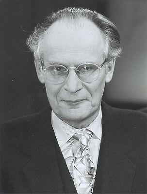 Foto Politiker PETER GLOTZ - SW Pressefoto - Vintage von 1993  - SPD Publizist