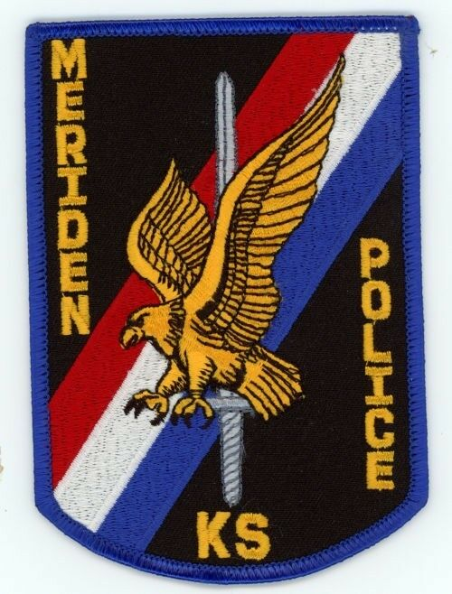 MERIDEN POLICE KANSAS KS SHERIFF EAGLE