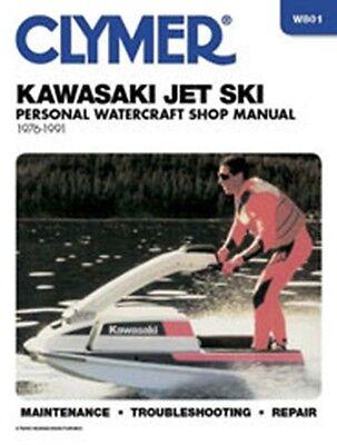 Clymer W801 Service & Repair Manual for 1976-91 Kawasaki Jet Ski