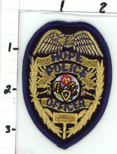 HOPE ARKANSAS AR POLICE NICE NEW COLORFUL PATCH SHERIFF