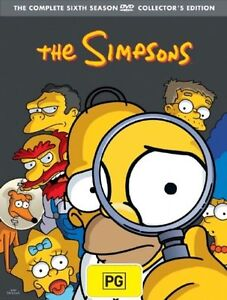 The-Simpsons-DVD-The-Complete-Sixth-Season-6-Series-4-Discs-13-Episodes-NEW