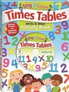 Sing and Learn Times Tables (2014, Gebundene Ausgabe)
