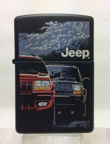 Rare Retired AMC 2000 Jeep Zippo Lighter