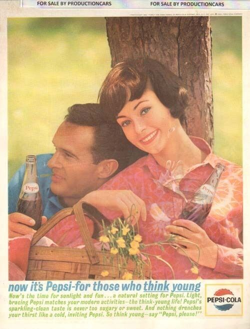 1963 Pepsi Cola Soda - sunlight -  10x13 - Classic Advertisement Print Ad LG20