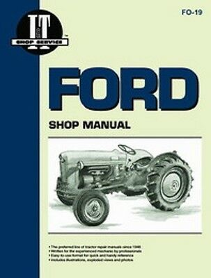 Ford Naa Golden Jubilee Tractor Shop Service Repair Manual It Fo19 New