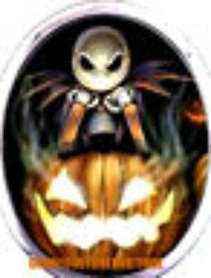 24 WATER SLIDE NAIL ART transfer DECAL JACK SKELETON HALLOWEEN - Orange Halloween Nail Art