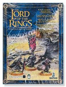 Black Guard of Barad Dur LOTR  Games Workshop Warhammer GW