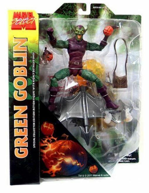 Diamond Select Toys Marvel Select: Green Goblin Action Figur