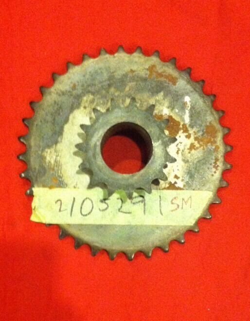 "Sprocket Assy. 15 & 3.  2105291SM, For 36"" Rotary Tiller"