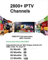 Free IPTV Trial for for 24 Hours NO Box Required