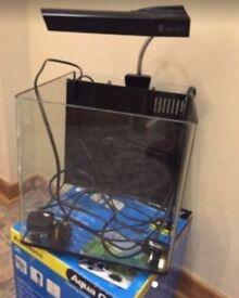 Cube fish tank £60 ONO