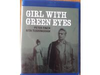 The Girl With Green Eyes (1964) Stars Peter Finch, Rita Tushingham, NEW Blu-ray Release! Like new!