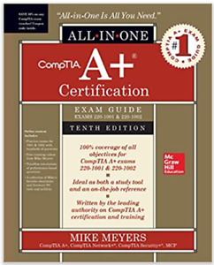 ***LIKE NEW*** Comptia A+ 10th Edition (Mike Meyers) Hardcover