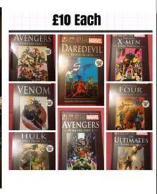 marvel hardback graphic comics