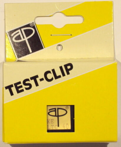 TEST CLIP DIP WIDE 40 PIN AP PRODUCTS, NEW OR GENTLY USED, GREAT CONDITION!