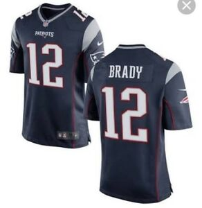 Official NFL Patriots Tom Brady Jersey, Size L