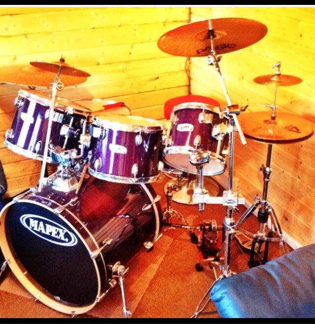 Drum kit Mapex m birch