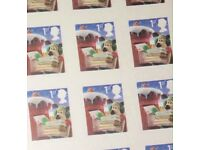 135 First Class Stamps - Xmas