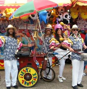 FIESTA TROPICALE BAND  Roving enetratinment West End Brisbane South West Preview