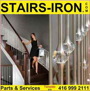 Stainless Steel Crystal Ball STAIRS Baluster