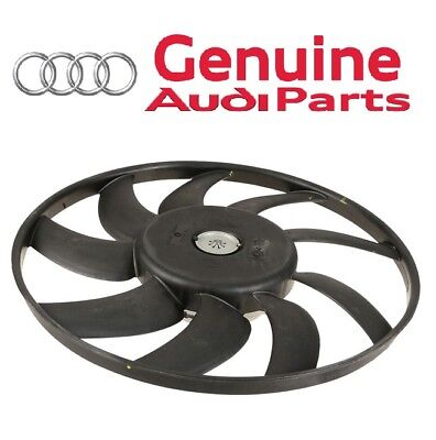 Driver Left Auxiliary Fan Assembly Genuine For Audi A6 Quattro 3.0 V6 400W 383mm ()