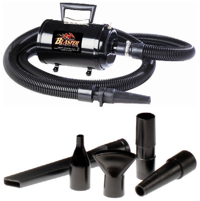 Metro Blaster-B-3CD Dog Grooming/Motorcycle Dryer-110V-FREE towel-5 Piece Kit