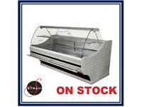 NEW £1408 + VAT 180cm (5.9 feet) Serve Over Counter Display Fridge WEGA on STOCK