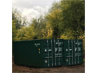 Secure container storage.