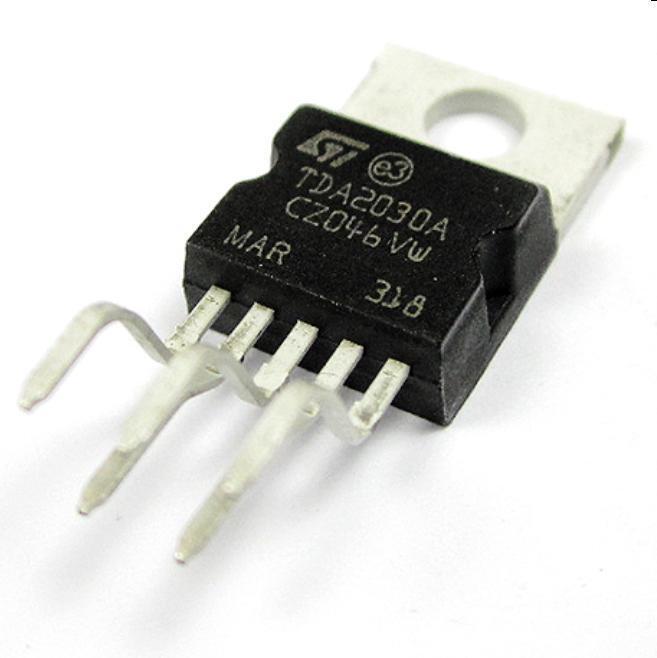 10PCS TDA2030 TDA2030A IC AMP AUDIO 18W MONO PENTAWATT5 New